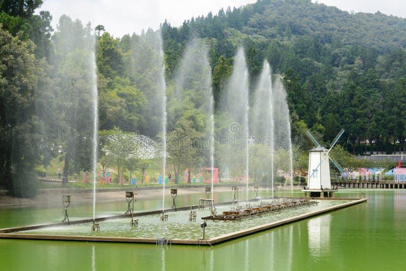 Exploração agrícola de Cingjing fotografia de stock