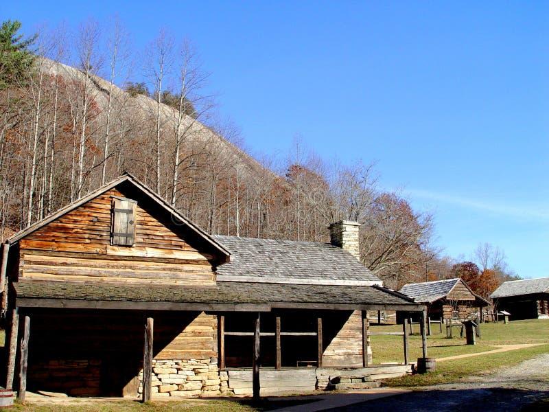 Exploração agrícola de pedra do parque estadual da montanha imagens de stock royalty free