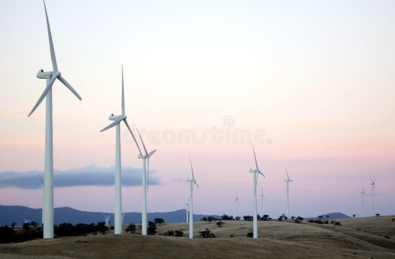 Exploração agrícola de vento II imagens de stock royalty free