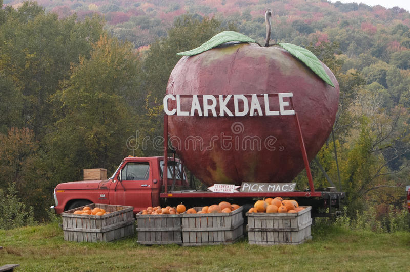 Exploração agrícola do fruto de Clarkdale fotos de stock