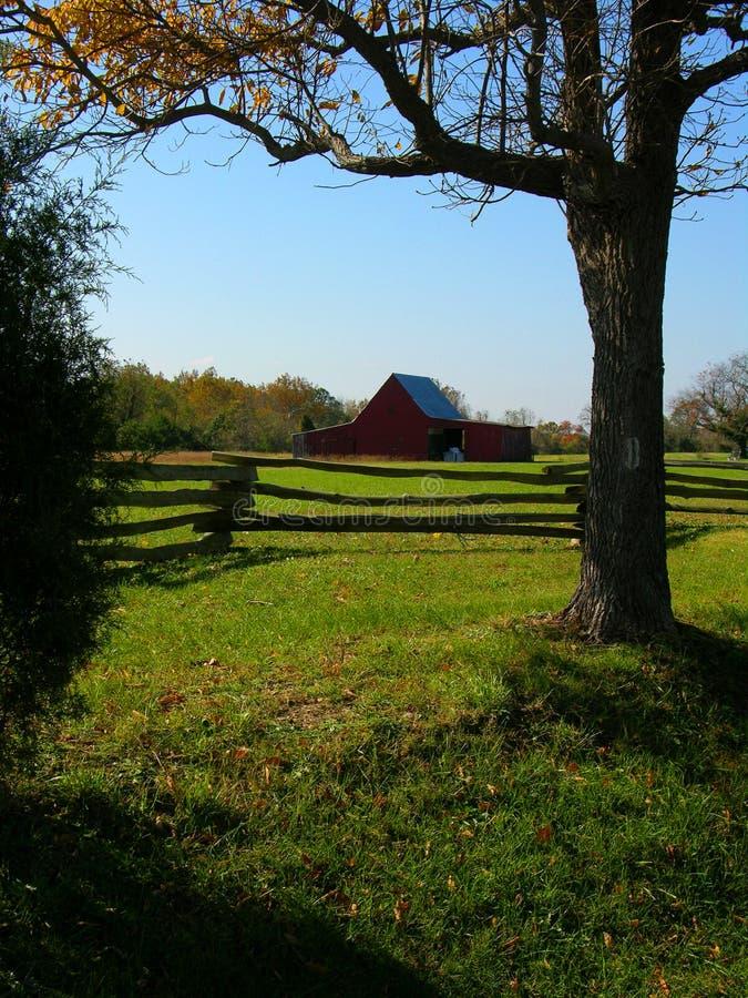 Exploração agrícola do tabaco de Maryland fotografia de stock royalty free