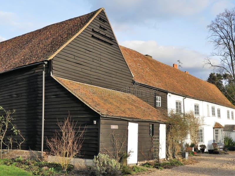 Exploração agrícola do verde de Micklefield, Hertfordshire imagem de stock royalty free
