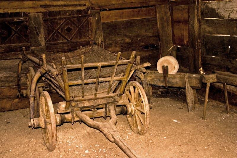 Exploração agrícola velha imagem de stock