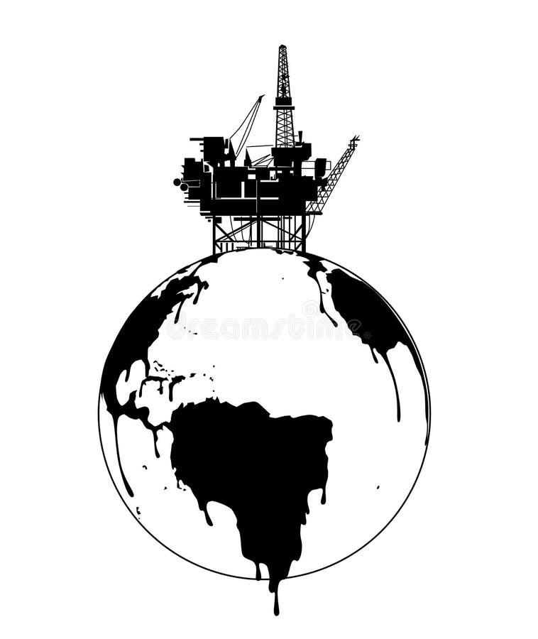 Exploração da terra ilustração stock