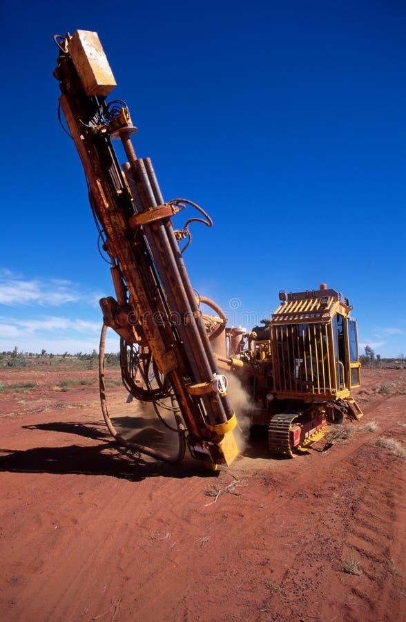 Exploração mineral imagem de stock