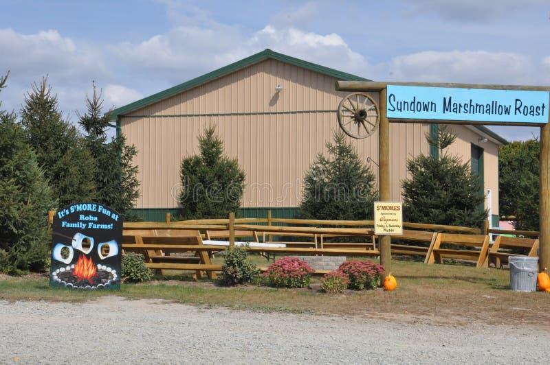 Explorações agrícolas da família de Roba no distrito norte de Abington em Pensilvânia imagens de stock royalty free