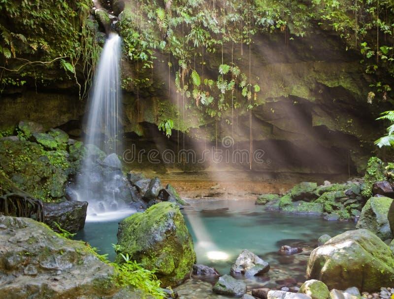 Explorações de Dominica imagens de stock