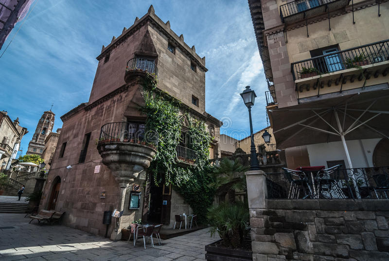 Exploración de la ciudad escénica de Barcelona imágenes de archivo libres de regalías