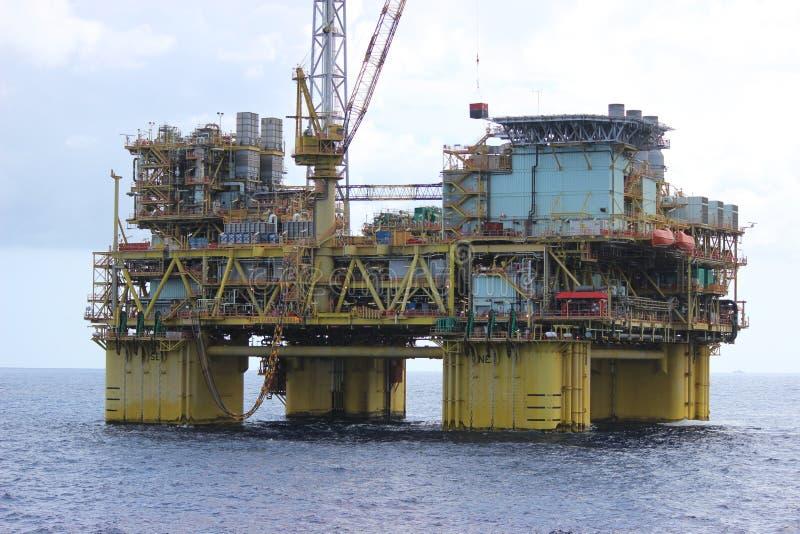 Exploración del aceite y de gas fotografía de archivo