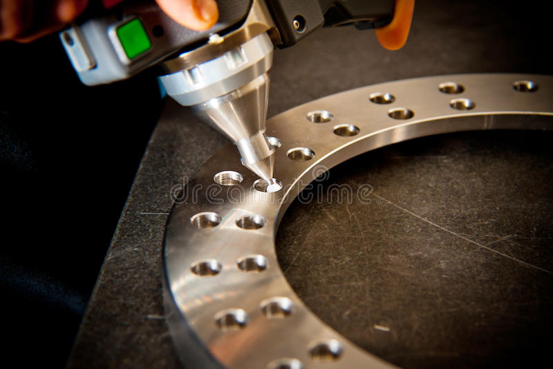 exploración del laser 3D foto de archivo