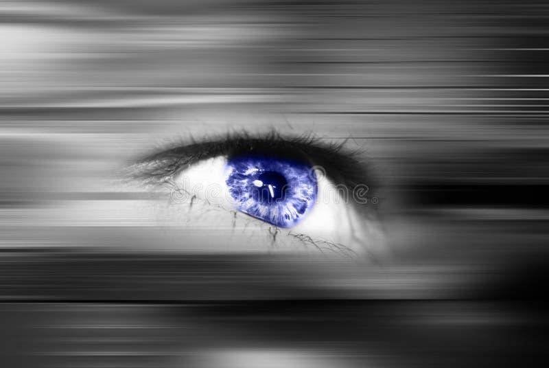 Exploración del ojo fotografía de archivo libre de regalías