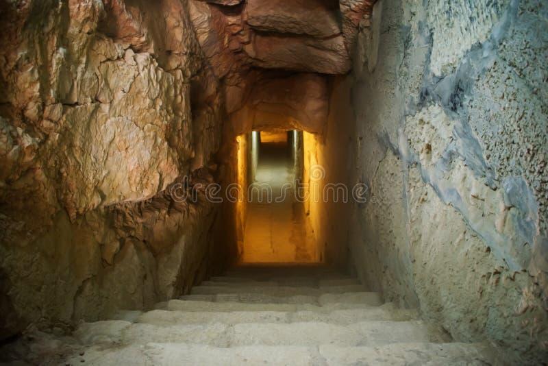 Exploración subterráneo fotos de archivo