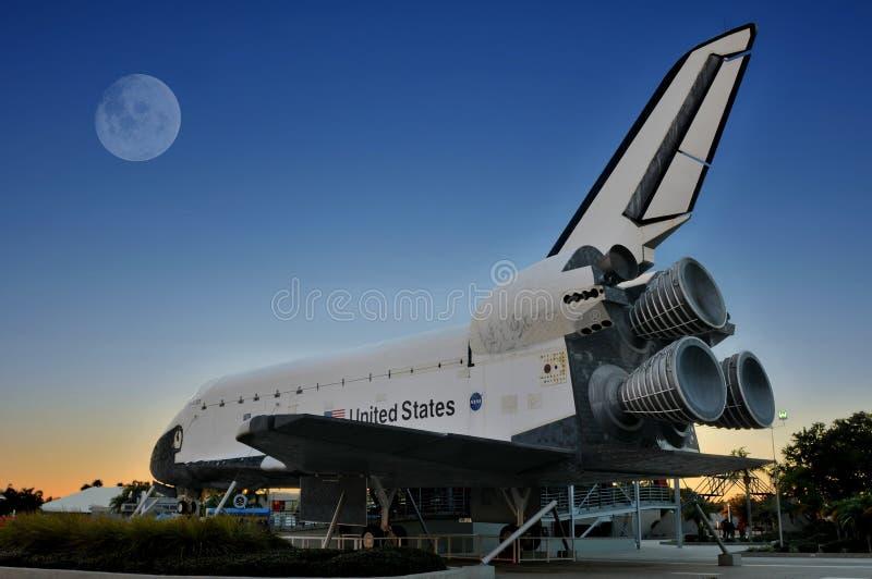 Explorador de la lanzadera de espacio de la NASA fotografía de archivo