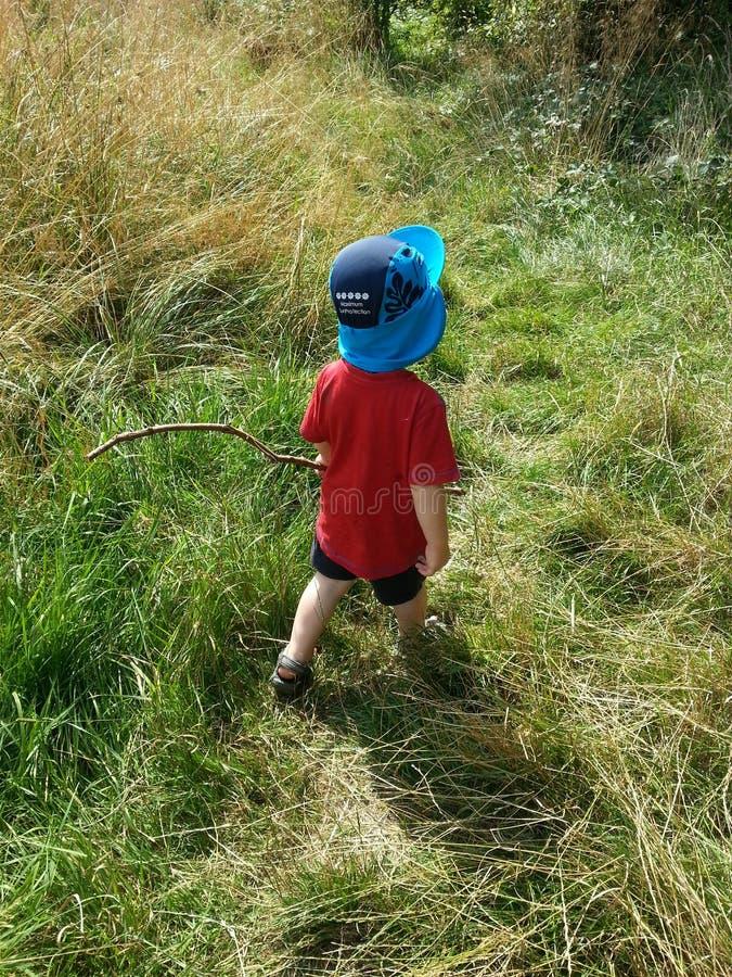 Explorador del niño fotos de archivo