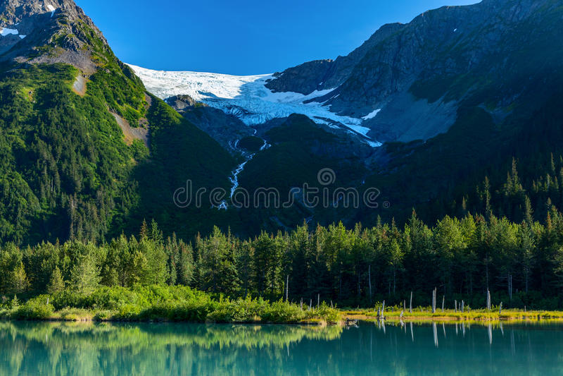 Explorador Glacier fotos de stock royalty free
