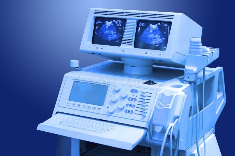 Explorador médico del ultrasonido fotografía de archivo libre de regalías
