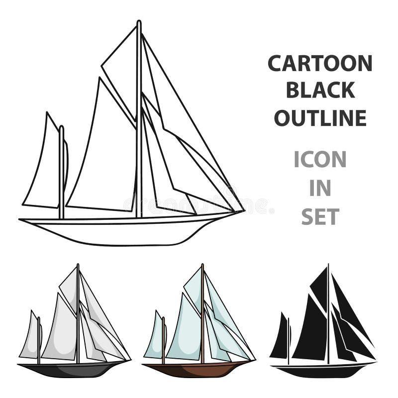 Exploradores del barco del vintage libre illustration