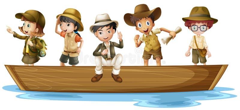 Exploradores jovenes libre illustration