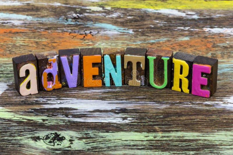 Exploration d'aventure Voyage d'exploration d'aventure d'exploration d'activités de liberté d'exploration photos libres de droits