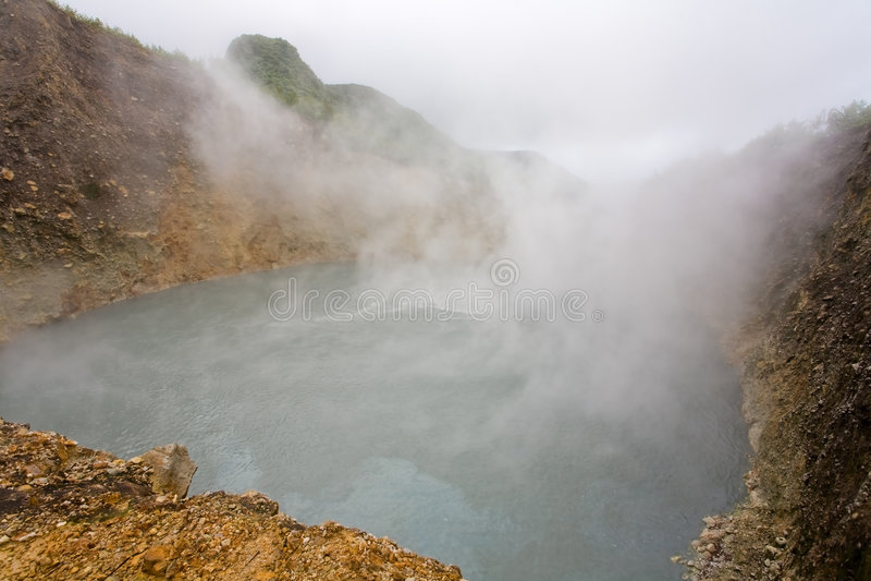 Explorations du Dominica photo stock