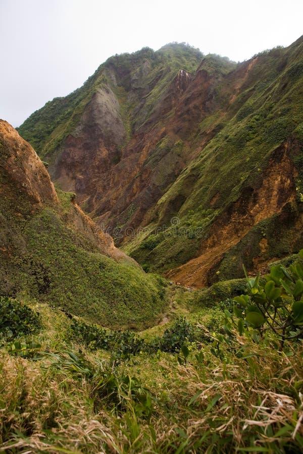 Explorations du Dominica photo libre de droits