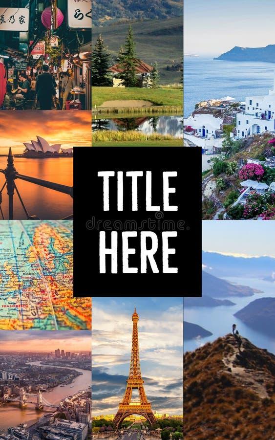 Explore el mundo imagen de archivo