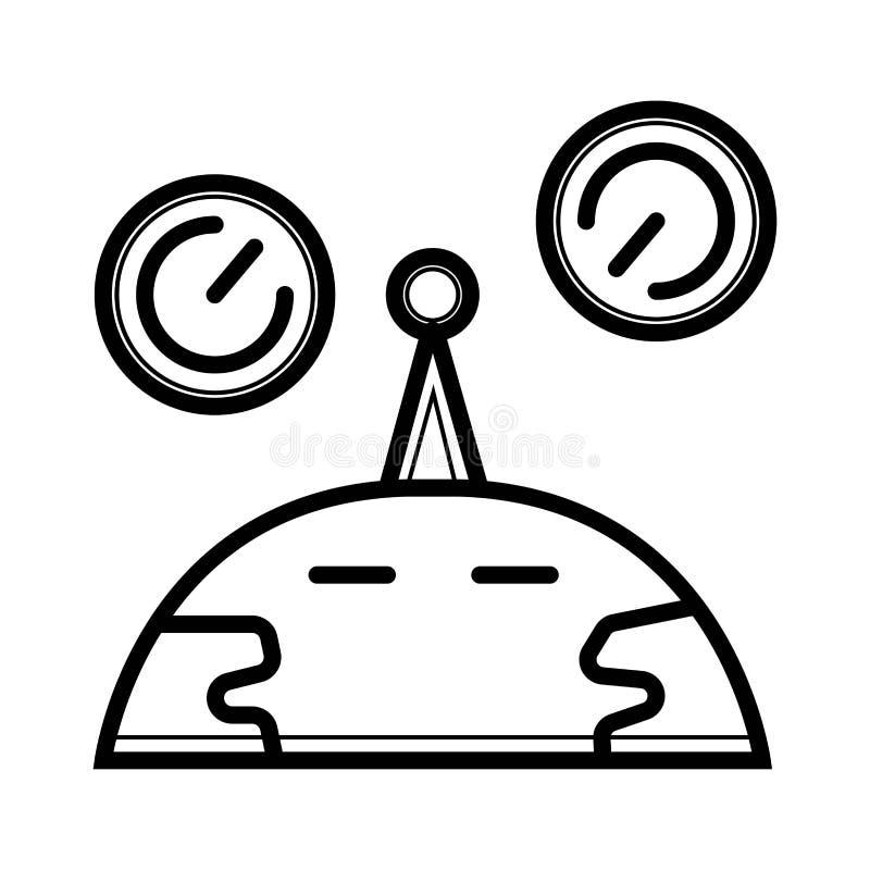Explore el vector del icono stock de ilustración