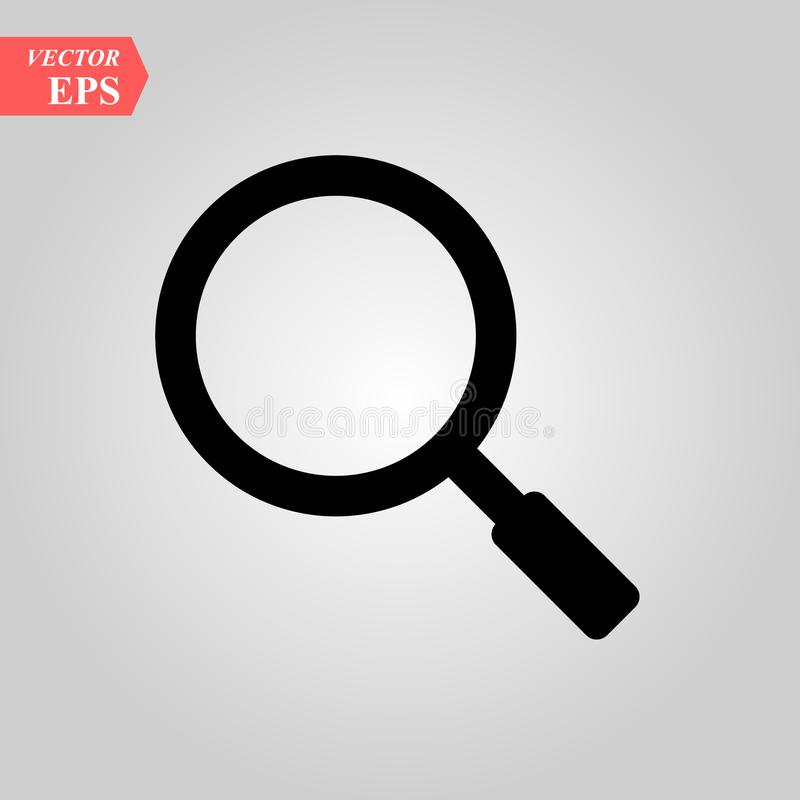 Explore Loup Sign Icon Or Loupe Inspect Tool Nd Vector