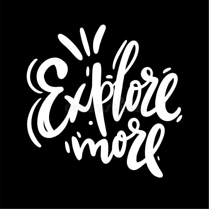 Explore más frase Letras dibujadas mano del vector Caligrafía moderna del cepillo libre illustration