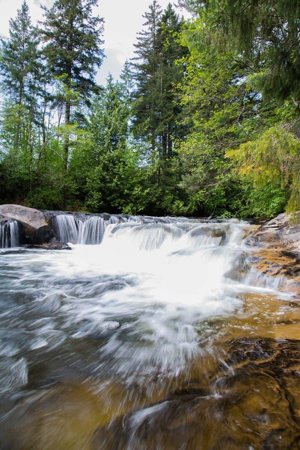 Explorer de rivière images stock