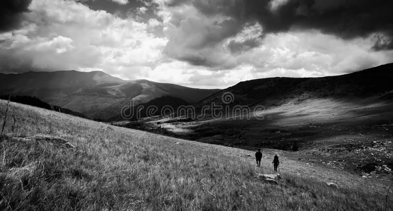 Explorers royalty free stock images