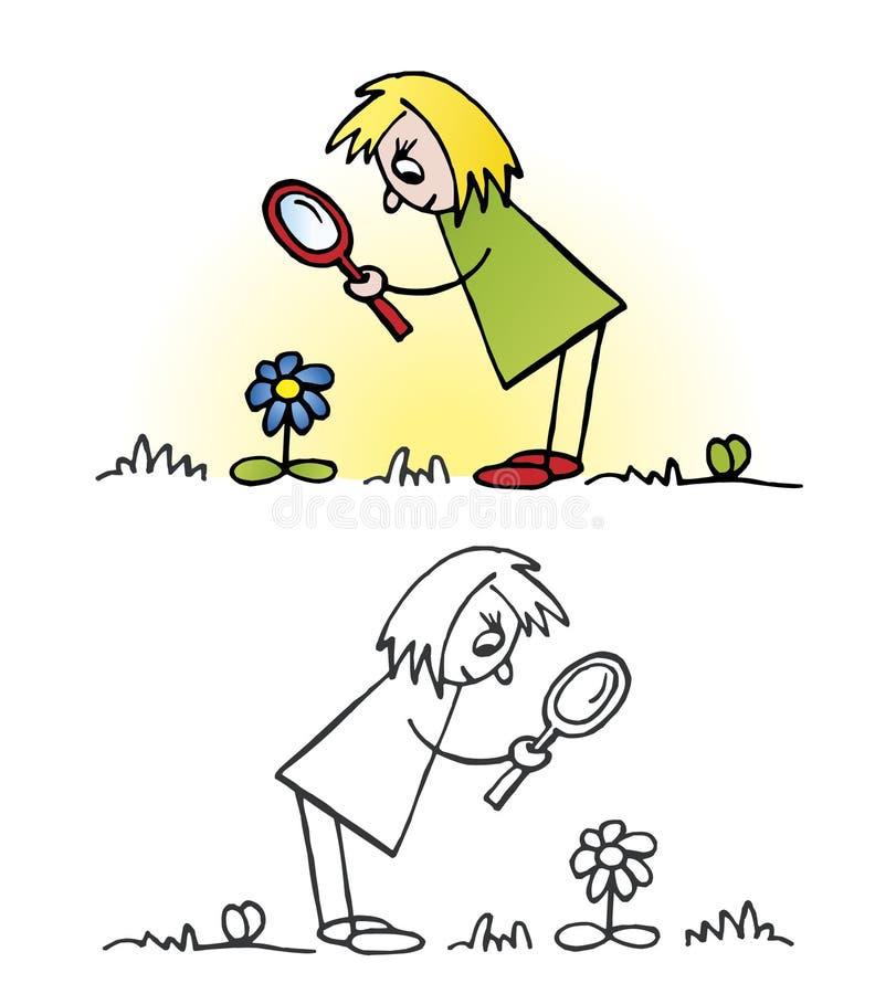 Exploring Nature Stock Image