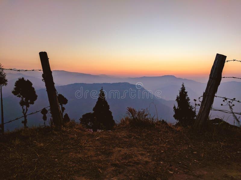 Exploring treks in Meghalaya royalty free stock photography