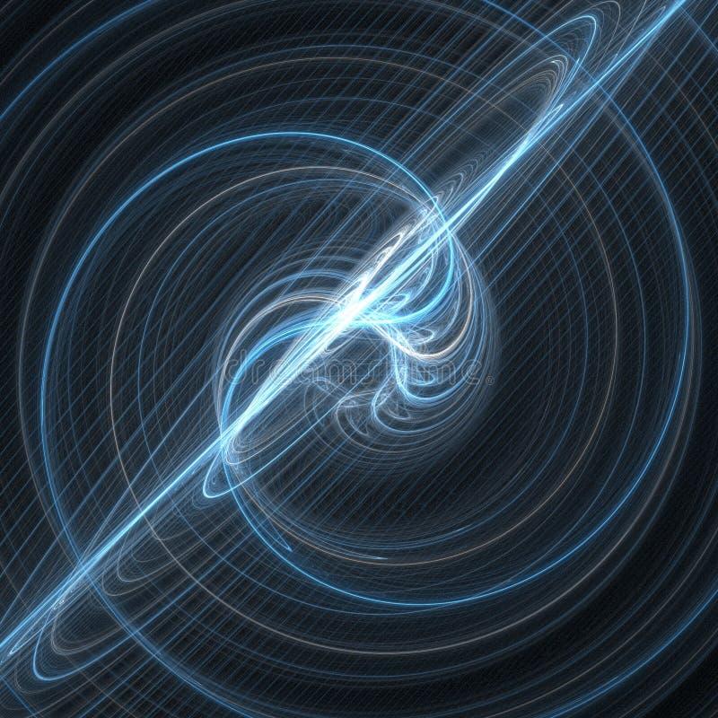 Explosão 3D do supernova do espaço ilustração royalty free