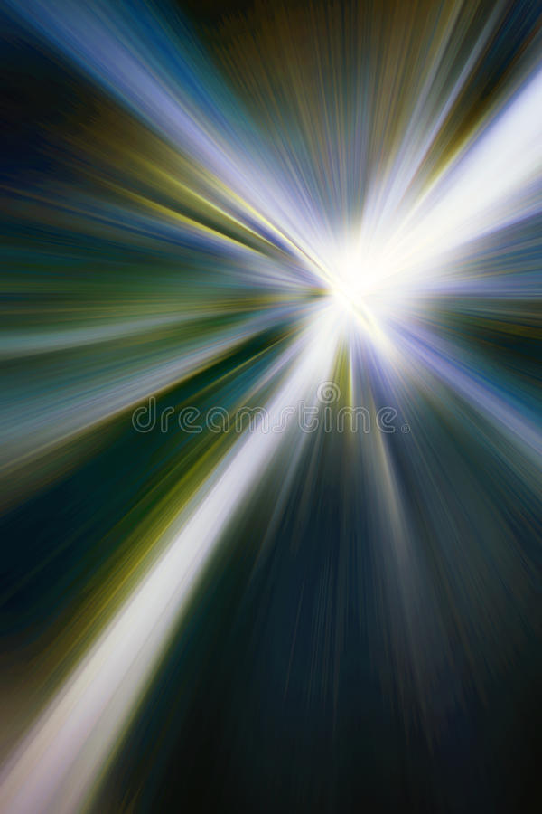 Explosão da estrela ilustração stock