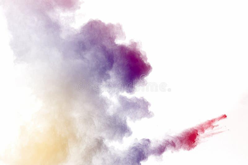 Explosão de poeira imagem de stock royalty free