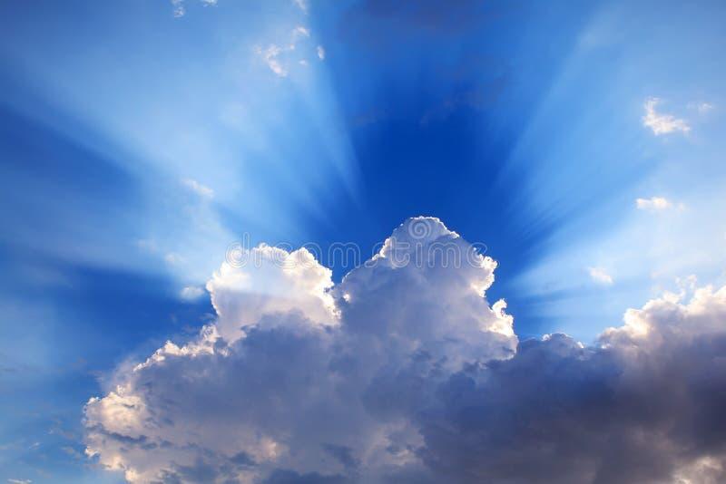 Explosão de Sun imagens de stock royalty free