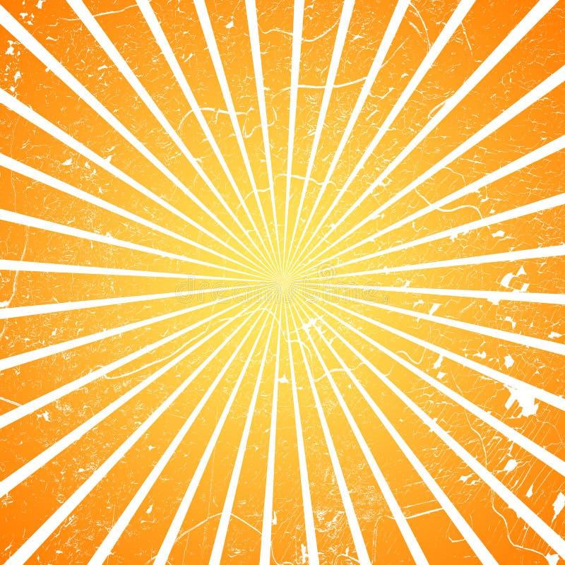 Explosão de Sun ilustração do vetor