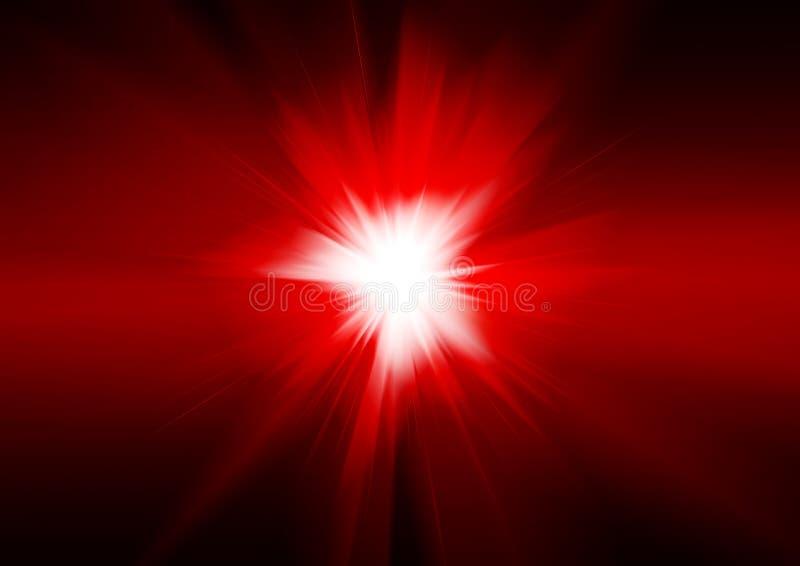 Explosão fantástica ilustração do vetor