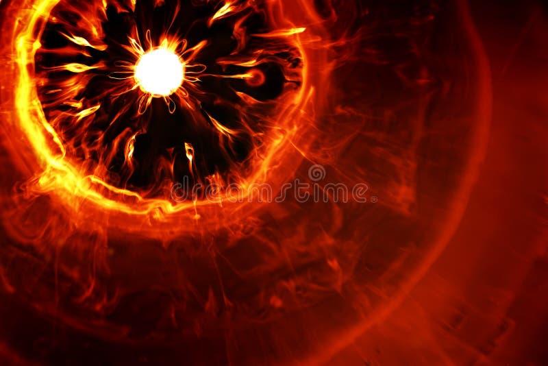 Explosão impetuosa ilustração do vetor