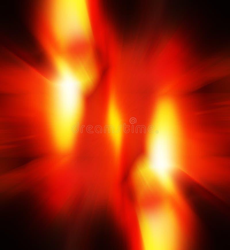 Explosión ilustración del vector