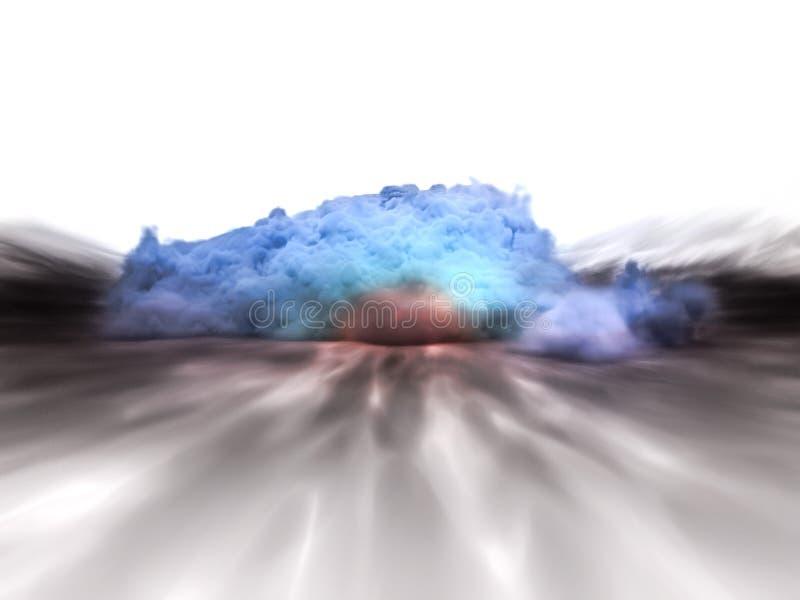 Explosión fotografía de archivo