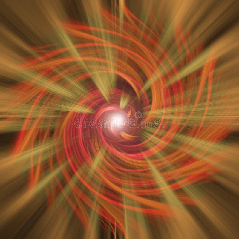 Explosión abstracta stock de ilustración