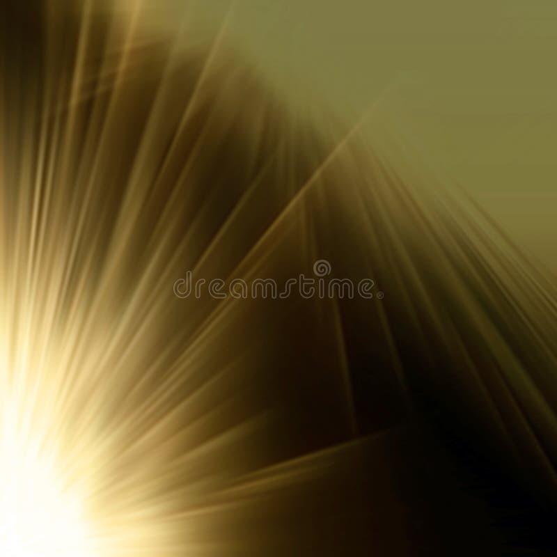 Explosión abstracta ilustración del vector