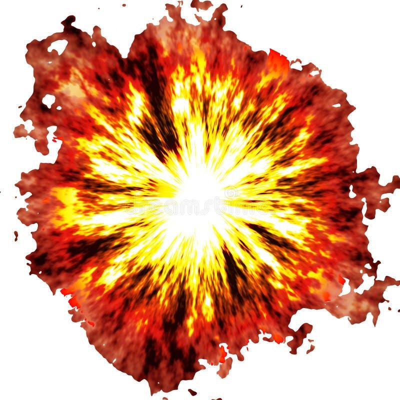 Explosión ardiente libre illustration