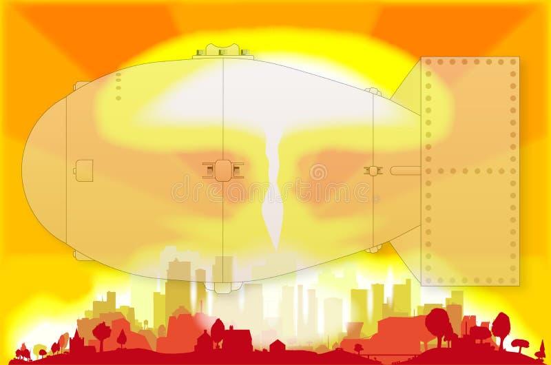 Explosión atómica libre illustration