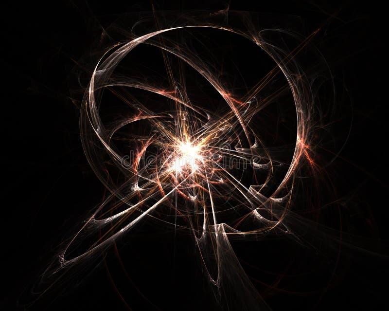 Explosión atómica imagen de archivo