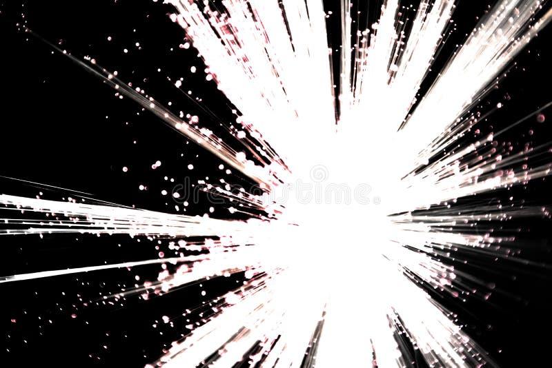 Explosión blanco y negro fotos de archivo libres de regalías