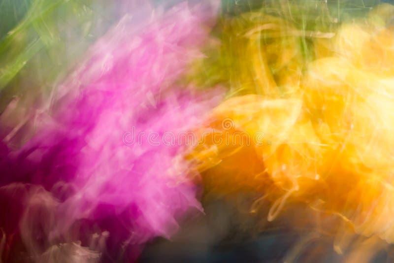 Explosión de color doble. imagen de archivo