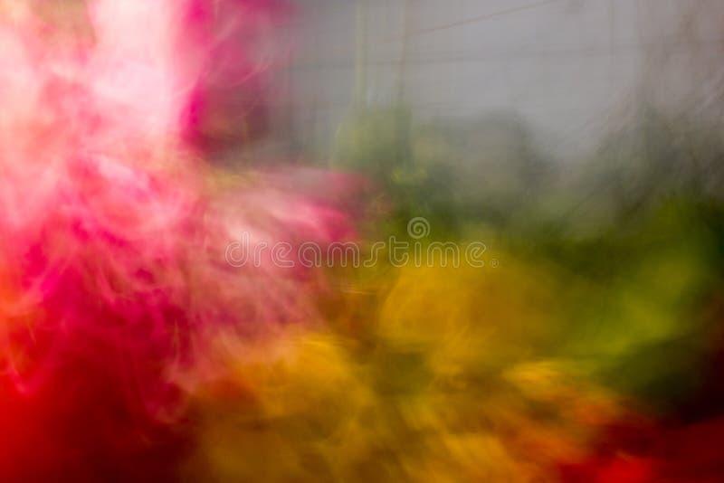 Explosión de color doble. fotografía de archivo